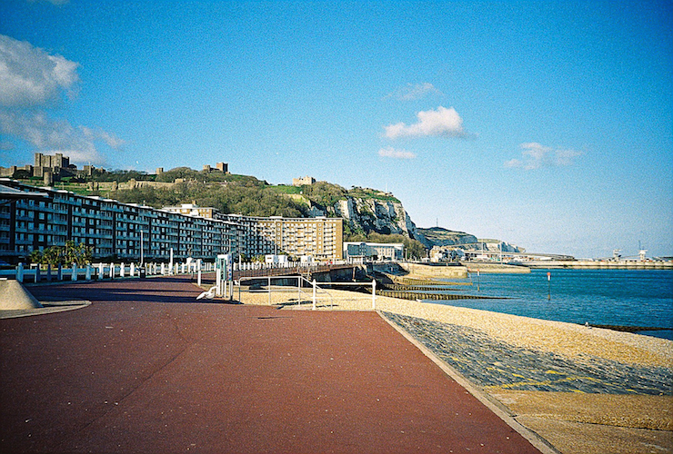 The beachfront at Dover