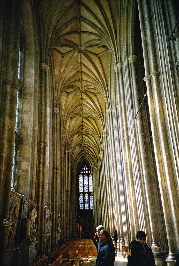 Inside Canterbury Cathedral
